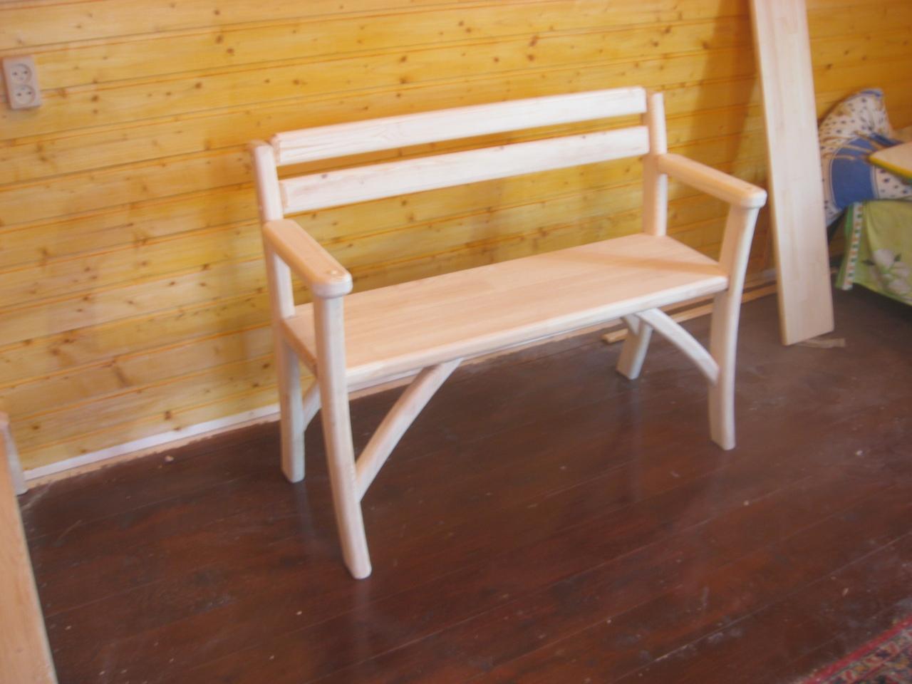Деревянные скамейки рязань