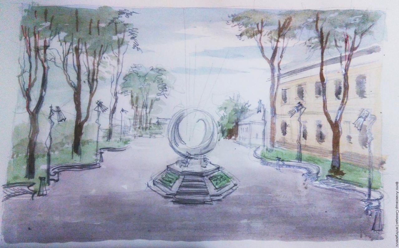 Тарковский в Рязани памятник