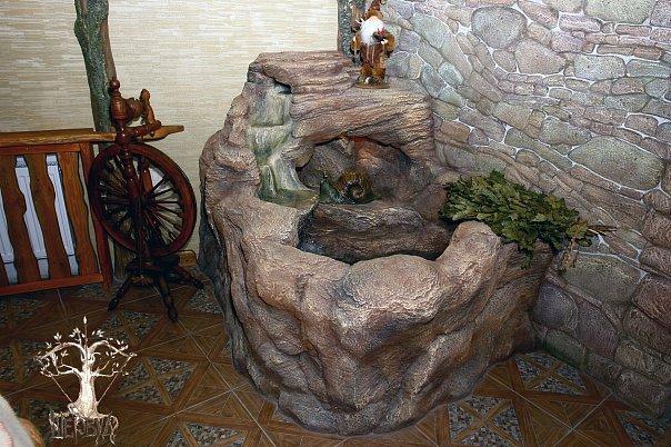Интерьерный фонтан