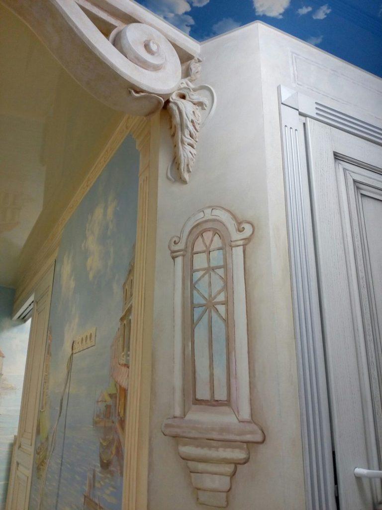 Венеция роспись и лепнина