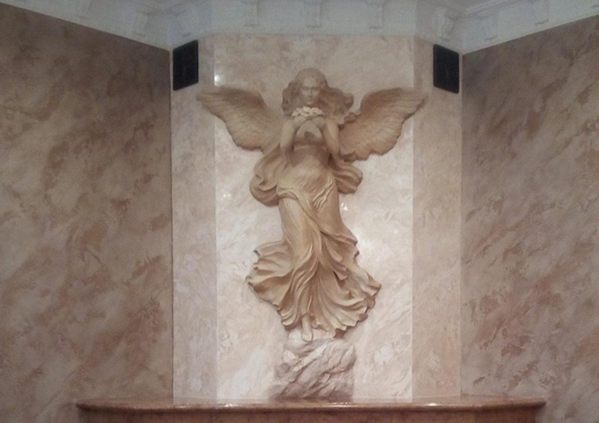 Богиня Ника скульптура победы